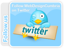 Follow Web Design Cumbria on Twitter